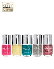 Nails Inc Mini 5 Piece Colour Collection