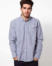 Denim Demon Shirt Small Gingham
