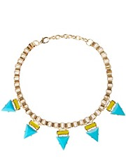 ASOS Jewelled Bunting Necklace