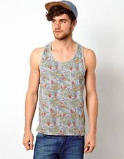 Bellfield Vest with Floral Print