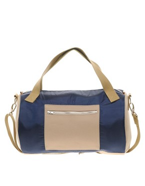 Image 1 ofTent Barrel Bag Exclusive to ASOS