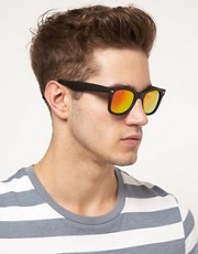 ASOS Mirrored Lens Wayfarer