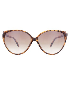 Image 2 ofRiver Island Printed Cat Eye Sunglasses