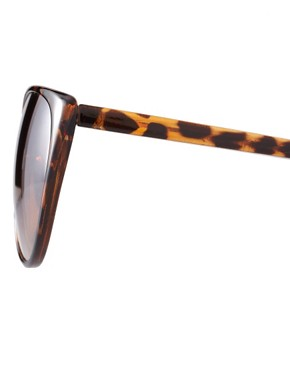 Image 4 ofRiver Island Printed Cat Eye Sunglasses