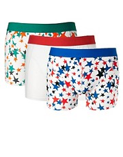 Jack &amp; Jones Touch 3 Pack Trunks