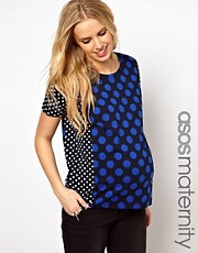 ASOS Maternity T-shirt With Spots