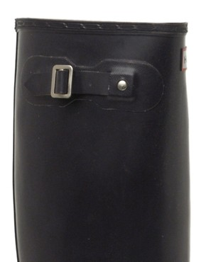 Image 3 ofHunter Original Black Wellington Boots