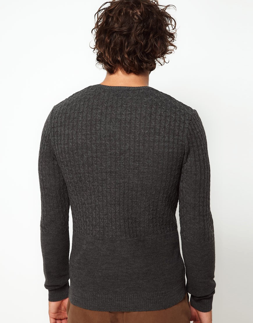 Image 2 of ASOS Cable Knit Jumper