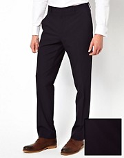 ASOS Slim Fit Suit Trousers in Gingham Check