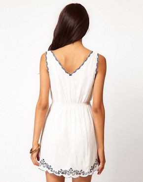 Image 2 ofAngel Eye Embroidered Summer Dress