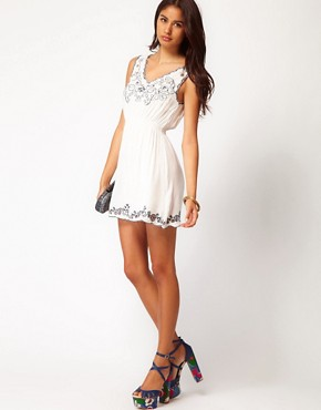 Image 4 ofAngel Eye Embroidered Summer Dress