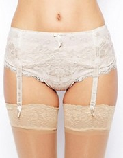 Pour Moi Amour Almond Suspender