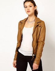 Muubaa Vienna Biker Leather Jacket