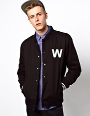 WESC Jacket Silvola Baseball