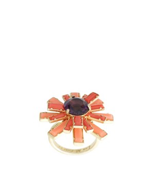 Image 1 ofLes Nereides Vintage Style Floral Ring