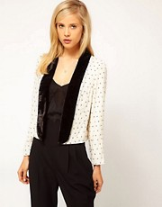 ASOS Jacket With Star Embellishment
