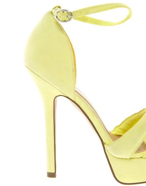 Image 2 ofASOS HOORAY Platform Heeled Sandals