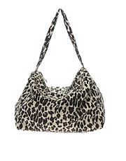 Pieces Malli Leopard Print Bag