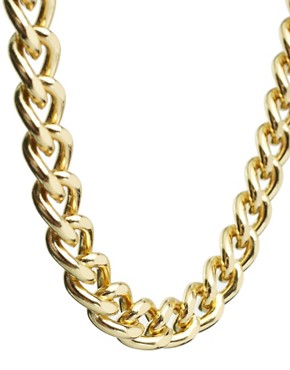 Image 3 of ASOS Pack of Four Chain Necklaces
