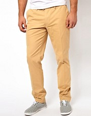 Chinos de corte slim de Farah Vintage