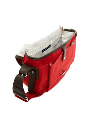 Image 2 ofFrench Connection Lake Canvas Saddle Bag