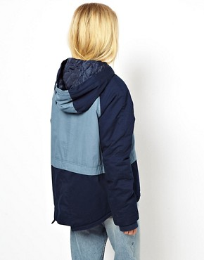 Image 2 ofASOS Blocked Duffle Parka