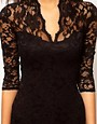 Image 3 ofASOS Lace Dress With Scalloped Neck