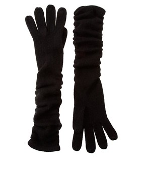 Image 1 ofASOS Super Soft Long Gloves