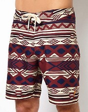 Lightning Bolt Aztec Boardshort 19""