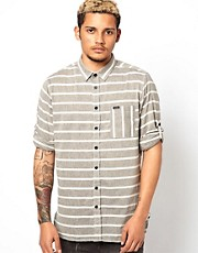 Makia Shirt Horizontal Stripe