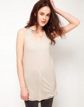 Image 2 ofSelected Dalli Jersey Tunic with Drape back Detail