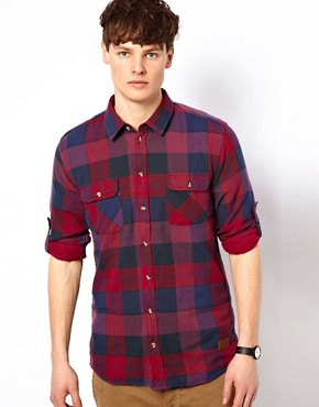 Image 1 ofMinimum Large Check Shirt