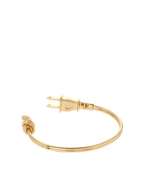 Image 2 ofASOS Plug Cuff Bracelet