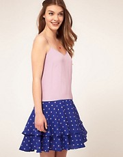 ASOS Dress In Mix &amp; Match Spot