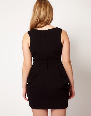 Image 2 ofASOS CURVE Exclusive Tulip Dress