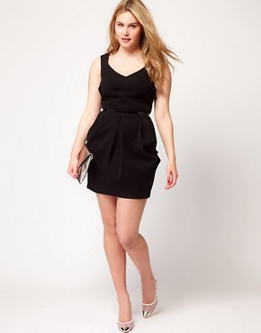 Image 4 ofASOS CURVE Exclusive Tulip Dress
