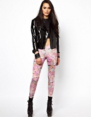 Voodoo Girl Love Heart Leggings