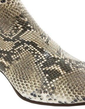 Image 2 ofJeffery West Snake Chelsea Boots