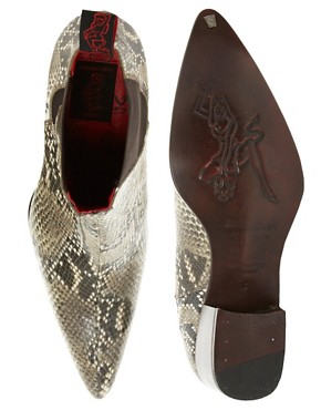 Image 3 ofJeffery West Snake Chelsea Boots