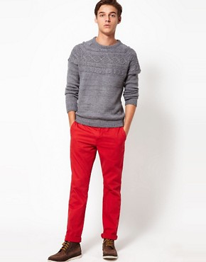 Image 4 ofSolid Slim Chinos