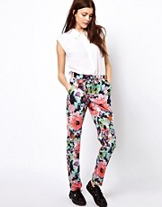 Vero Moda Floral Print Track Pant