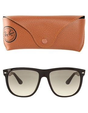 Image 2 ofRay-Ban Flat Brow Wayfarer Sunglasses
