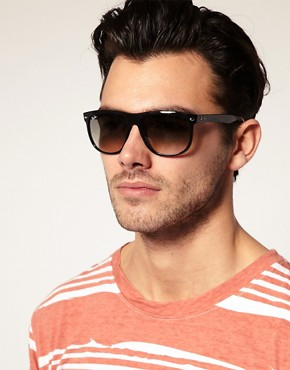 Image 3 ofRay-Ban Flat Brow Wayfarer Sunglasses