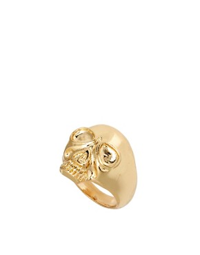 Image 1 ofASOS Skull Ring