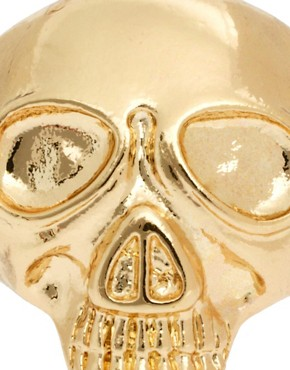 Image 2 ofASOS Skull Ring