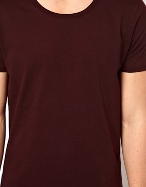 Image 3 ofASOS T-Shirt With Scoop Neck