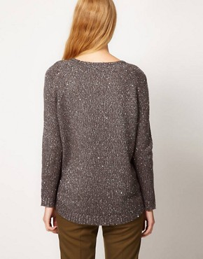 Image 2 ofWhistles Chrissie Sequin Slouchy Sweater