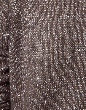 Image 3 ofWhistles Chrissie Sequin Slouchy Sweater