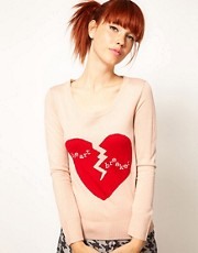 Elizabeth Lau for ASOS &#39;Heartbreaker&#39; Jumper
