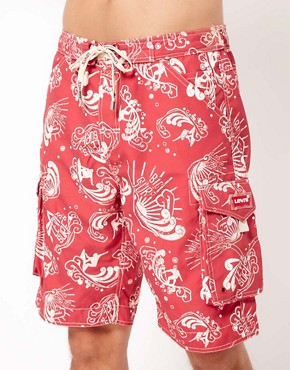 Image 1 ofLevi&#39;s Montserrat Swim Shorts
